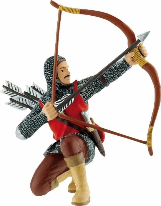 Bullyland Figurine World - Ritter - Bogenschütze rot (80787)