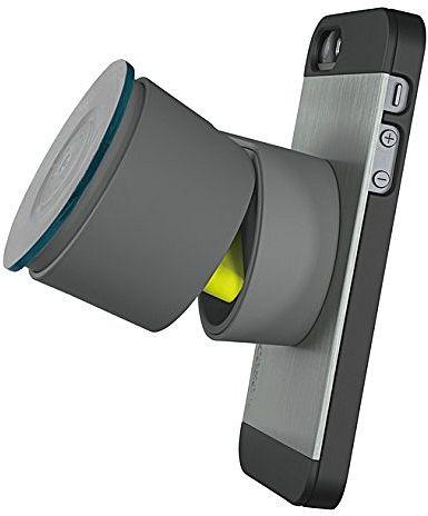 Logitech [+] drive grau, Kfz-Halterung für iPhone 5/5s (989-000132)