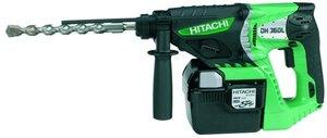 Hitachi DH36DL Akku-Bohrhammer inkl. Koffer + 2 Akkus 2.6Ah