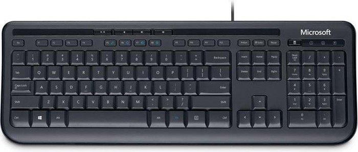 Microsoft wired Keyboard 600 black, USB, ES (ANB-00012)
