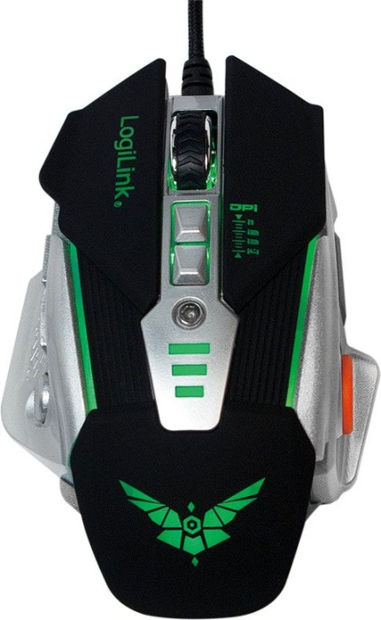 LogiLink Gaming Mouse, schwarz, USB (ID0156)