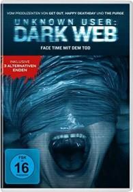 Unknown User: Dark Web (DVD)