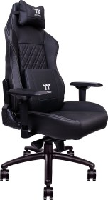 Thermaltake X COMFORT Real Leather Gamingstuhl, schwarz (GC-XCR-BBLFDL-01)