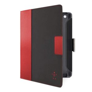 Belkin new iPad Cinema Folio black/red (F8N772CWC01)