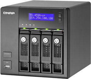 Qnap Turbo Station TS-459 Pro+   4TB, 2x Gb LAN