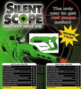 Pelican SilentScope Light Rifle Lightgun (Xbox)