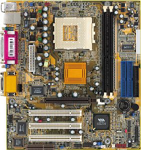 DFI AZ30-EL, KM266 (DDR)