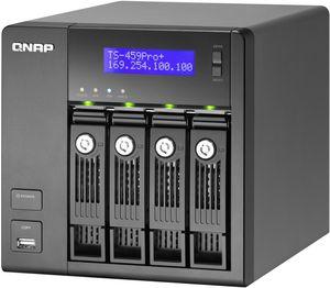 Qnap Turbo station TS-459 Pro+ 8TB, 2x Gb LAN