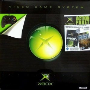 Microsoft Xbox Action pack (incl. Brute Force & Splinter Cell)