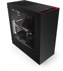 NZXT Source 340 schwarz/rot, Acrylfenster (CA-S340MB-GR)