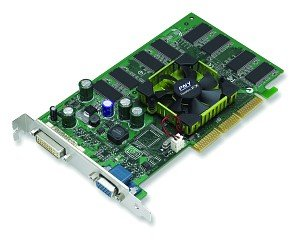 PNY Quadro FX 500, GeForce FX 5200, 128MB DDR, DVI, TV-out, AGP (VCQFX500-PB)