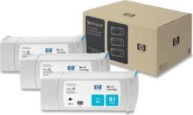 HP ink 81 cyan, 3-pack (C5067A)