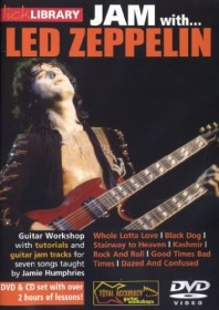 Lern-DVD: Gitarren Lick Library - Jam with Led Zeppelin
