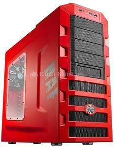 Cooler Master HAF922 red with side panel window (RC-922M-RWN2) -- © caseking.de