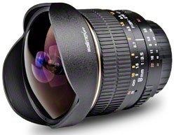 Walimex Pro 8mm 3.5 Fisheye für Sony E schwarz (17202)