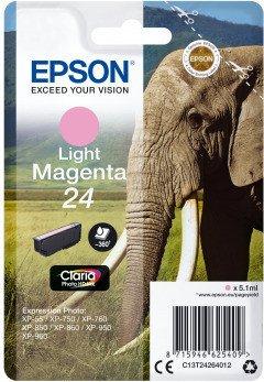 Epson Tinte 24 magenta hell (C13T24264010)