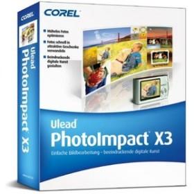 Ulead Photo Impact X3 (German) (PC) (PIX3GERPC)
