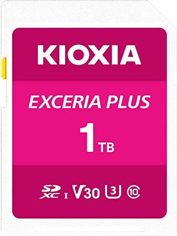 KIOXIA EXCERIA PLUS R100/W85 SDXC 1TB, UHS-I U3, Class 10 (LNPL1M001TG4) -- via Amazon Partnerprogramm