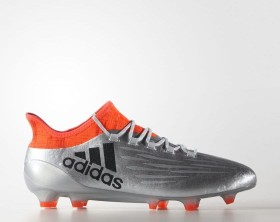 adidas X16.1 FG silver met/core black/solar red (men) (S81939)