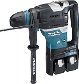 Makita DHR400PG2U Akku-Bohr-/Meißelhammer inkl. Koffer + 2 Akkus 6.0Ah