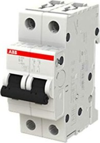 ABB Sicherungsautomat S200, 2P, B, 16A (S202-B16)