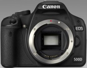 Canon EOS 500D schwarz Gehäuse (3820B014)