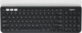 Logitech K780 Multi-Device wireless Keyboard, USB, DE (920-008034)