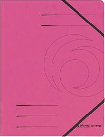 Herlitz Eckspanner Colorspan A4, fuchsia (11159654)