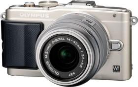 Olympus PEN E-PL6 silber mit Objektiv M.Zuiko digital 14-42mm II (V205051SE000)