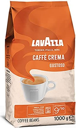 Lavazza Caffe Crema Gustoso coffee beans, 1000g -- via Amazon Partnerprogramm