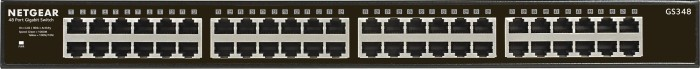 Netgear SOHO GS300 Rackmount Gigabit switch, 48x RJ-45 (GS348-100)