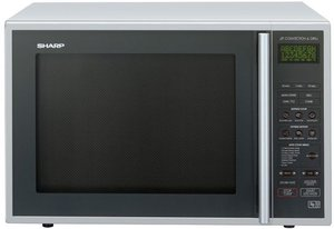 Sharp R-959SLM microwave with grill