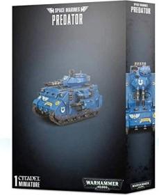 Games Workshop Warhammer 40.000 - Space Marines - Predator (99120101247)