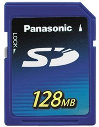 Panasonic SD Card 128MB (RP-SD128BE1A)