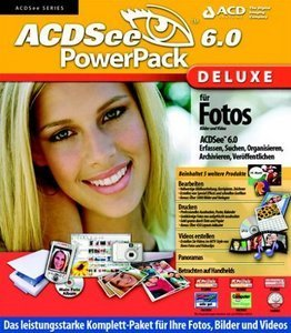 ACDSystems ACDSee 6.0 Deluxe Powerpack aktualizacja (angielski) (PC) (AC18UE)