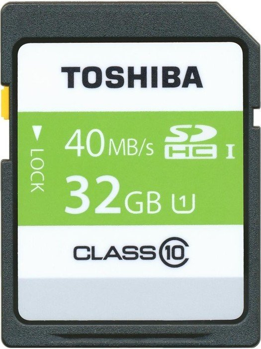 Toshiba High Speed Professional SDHC 32GB, UHS-I/Class 10 (SD-T032UHS1(6)