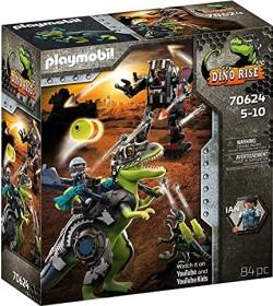 playmobil Dino Rise - T-Rex: Gefecht der Giganten (70624)