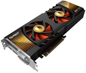 Palit GeForce GTX 580, 1.5GB GDDR5, 2x DVI, HDMI, DisplayPort (NE5X5800F10CB)