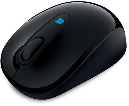 Microsoft Sculpt Mobile Mouse black, USB (43U-00003)