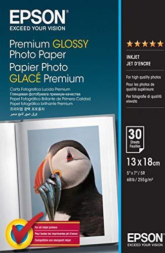 Epson S042154 Fotopapier 13x18cm, 255g, 30 Blatt -- via Amazon Partnerprogramm