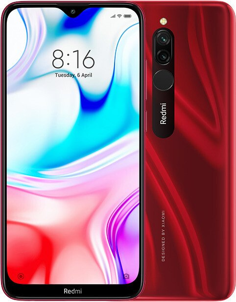 Xiaomi Redmi 8 64GB ruby red