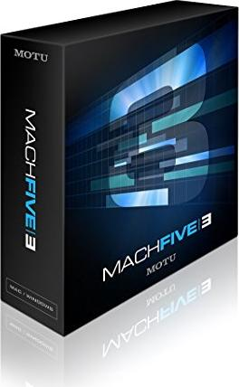 MOTU MachFive 3 (englisch) (PC/MAC) -- via Amazon Partnerprogramm
