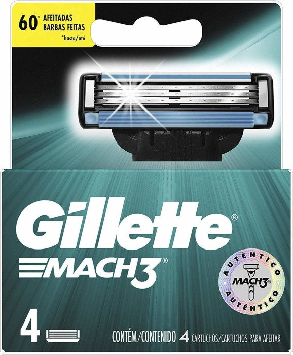 Gillette Mach3 replacement blades 4-pack -- http://bepixelung.org/18164