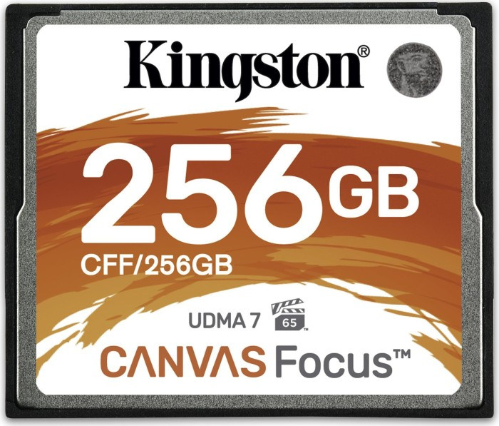 Kingston Canvas Focus R150/W130 CompactFlash Card [CF] 256GB (CFF/256GB)