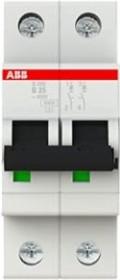 ABB Sicherungsautomat S200, 2P, B, 25A (S202-B25)