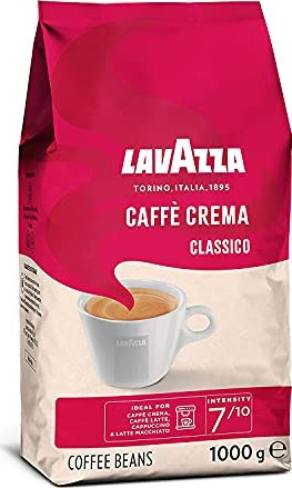 Lavazza Caffe Crema Classico coffee beans, 1000g -- via Amazon Partnerprogramm