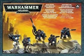 Games Workshop Warhammer 40.000 - Space Marines - Scouts mit Scharfschützengewehren (99120101248)