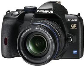 Olympus E-520 schwarz mit Objektiv 14-42mm 3.5-5.6 und 70-300mm 4.0-5.6 (N3126892)
