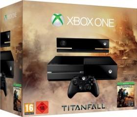 Microsoft Xbox One inkl. Kinect 2.0 - 500GB Titanfall Bundle schwarz