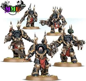Games Workshop Warhammer 40.000 - Chaos Space Marines - Terminators (99120102097)